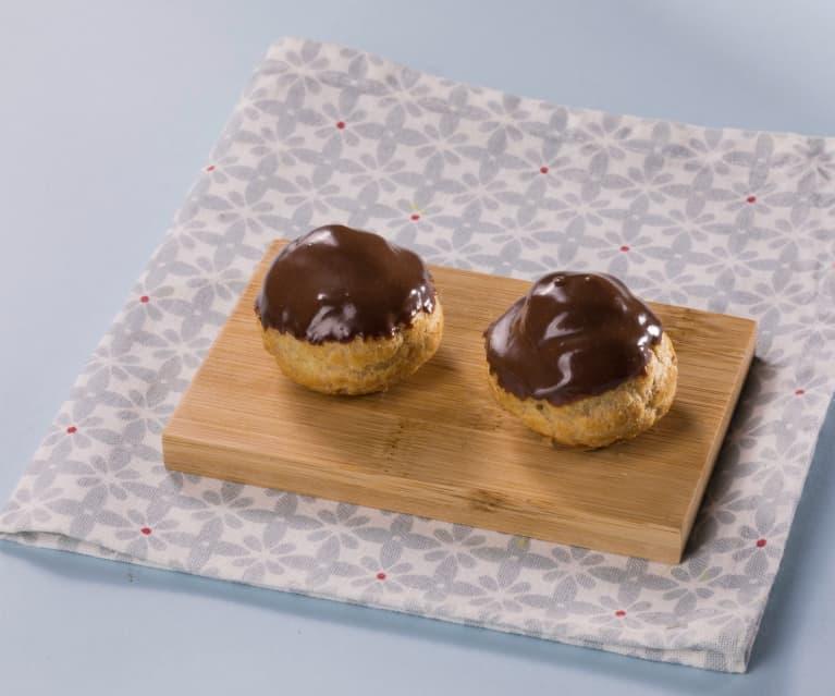 Ricetta Per Bigne.Bigne Al Cioccolato Cookidoo La Nostra Piattaforma Ufficiale Di Ricette Per Bimby