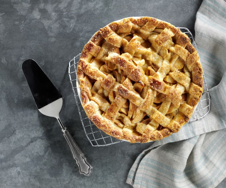 Crème Fraîche Apple Pie