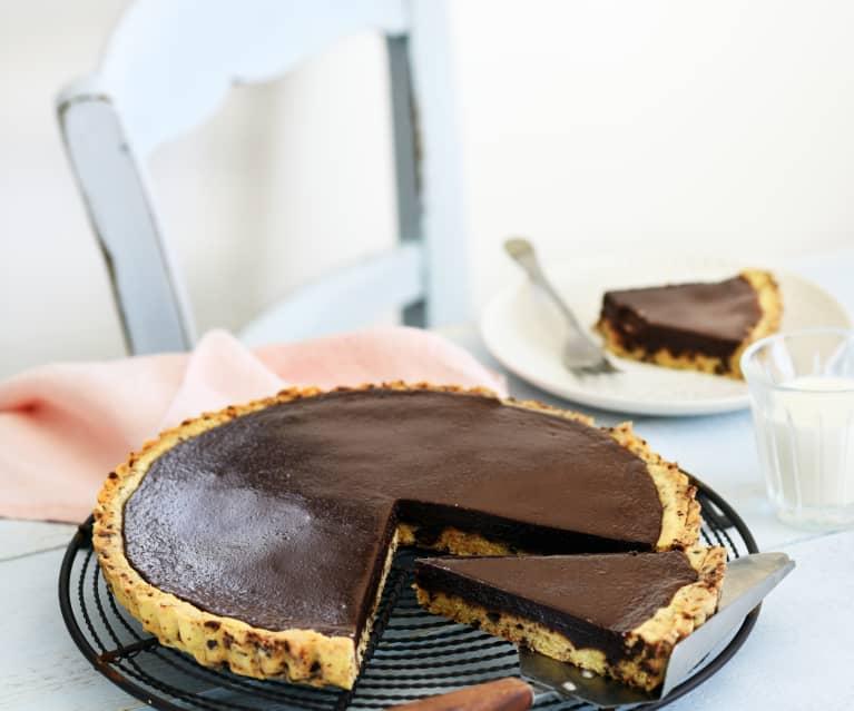 Tarte cookie au chocolat