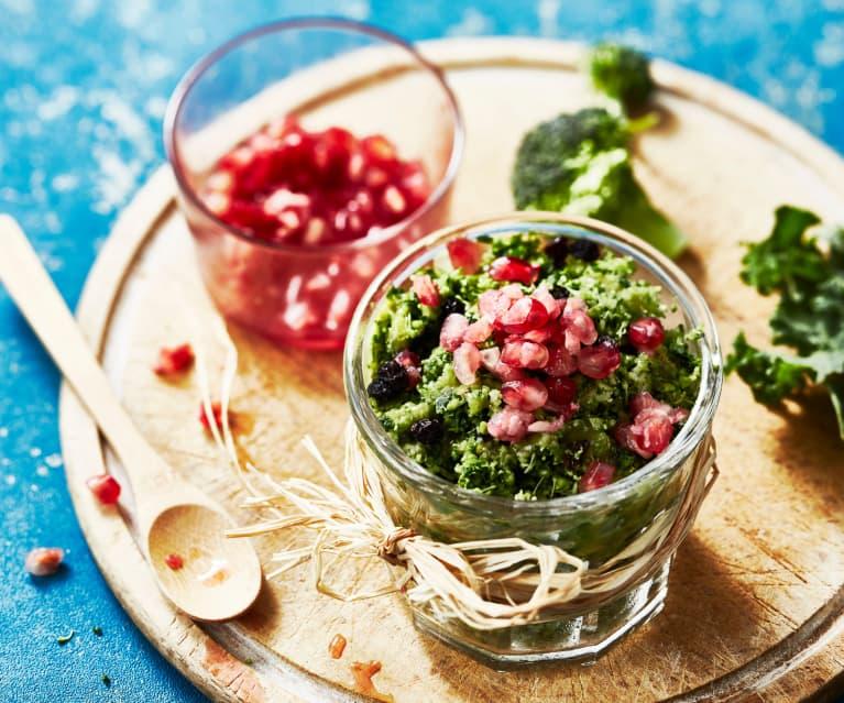Taboulé de brocoli et chou kale
