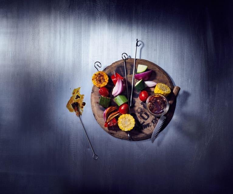 Süß-saure Marinade für Gemüse