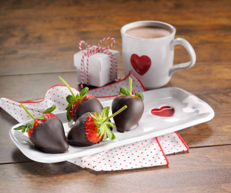 Chocolate Covered Strawberries And Hot Cocoa For Two Cookidoo The Official Thermomix Recipe Platform
