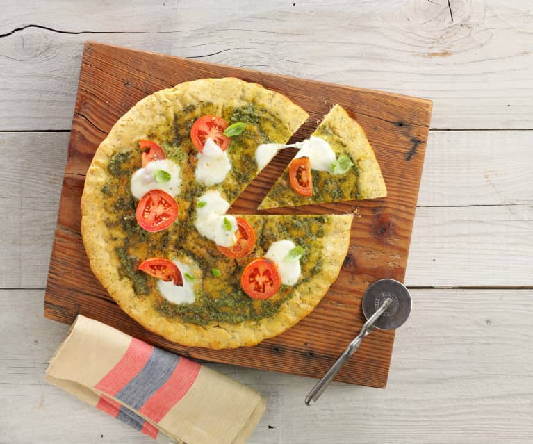 Gluten-Free Herbed Pizza Crust