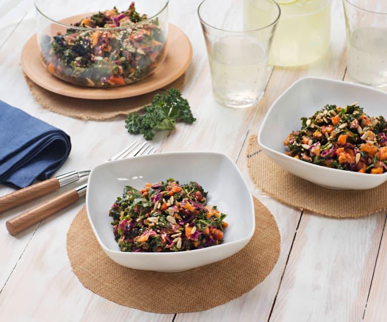 Ensalada detox con kale