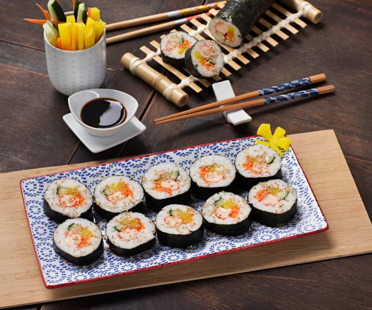 Sushi coreano (Kimbap) - Corea
