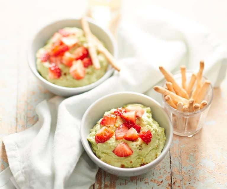 Guacamole à la fraise
