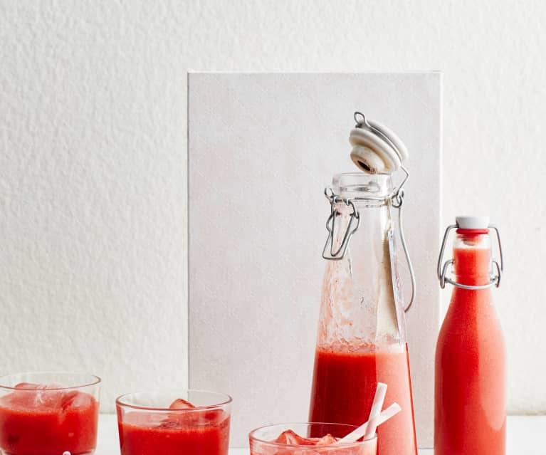 Erdbeer-Rhabarber-Limes