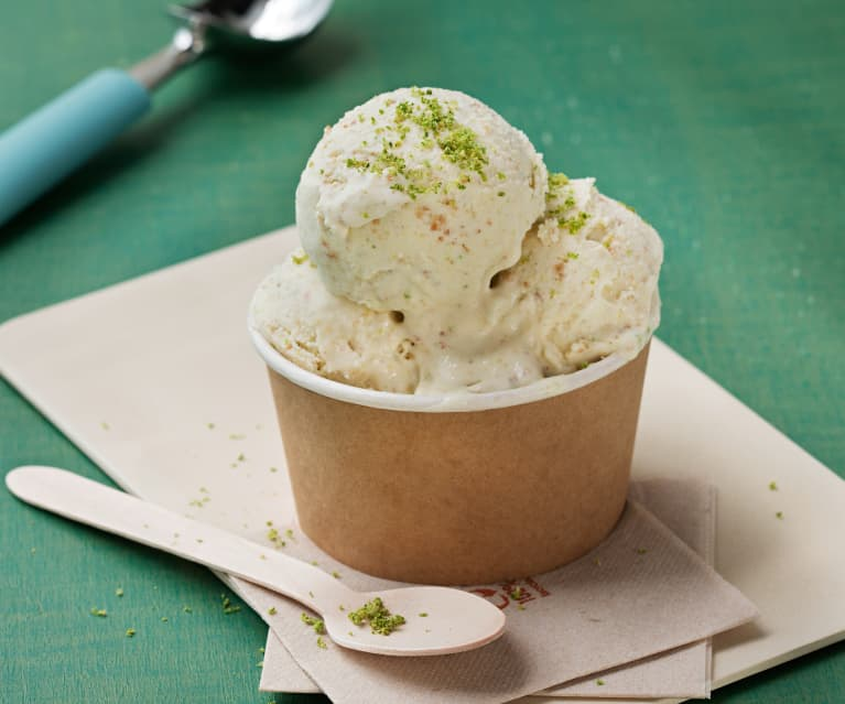 Helado de Key lime pie