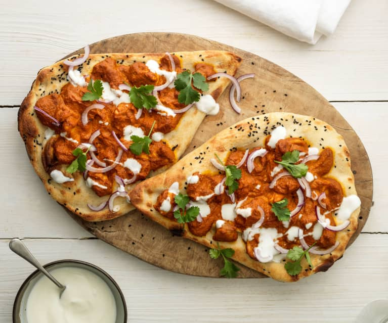 Chicken Tikka Flatbreads