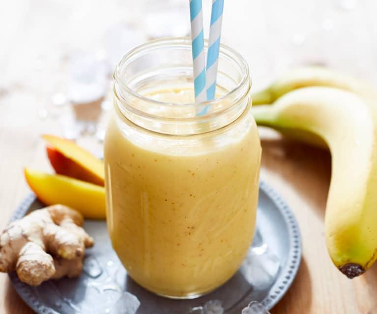 Bananen-Mango-Smoothie mit Ingwer