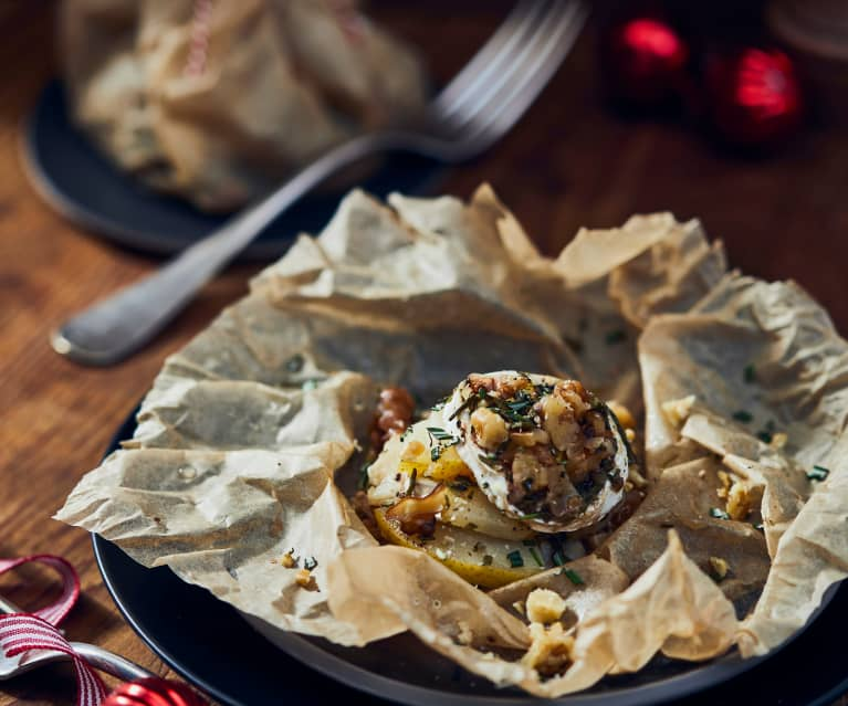 Pear and Goat's Cheese Parcels
