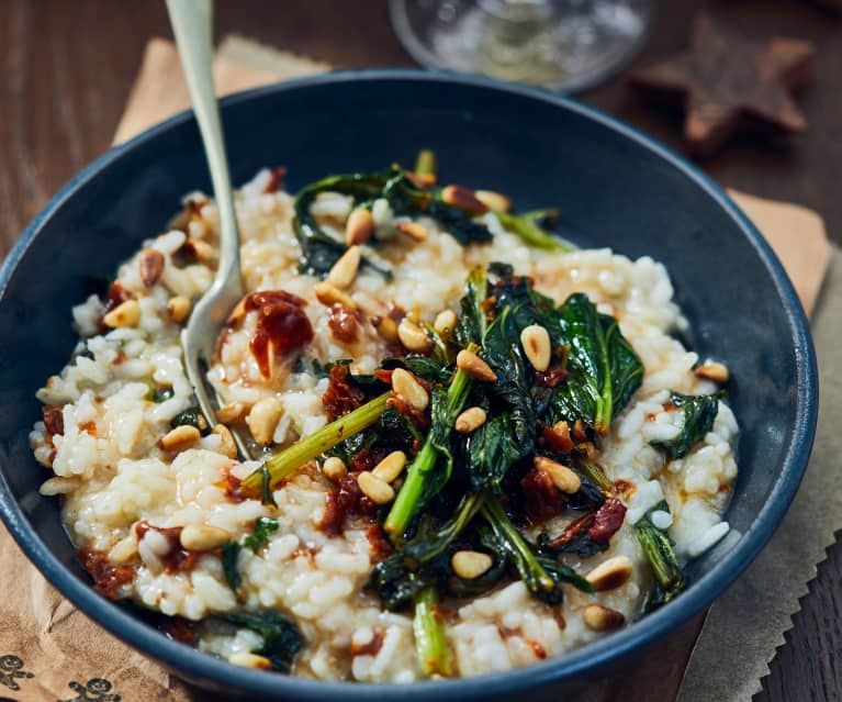 Risotto with Broccoli Rabe