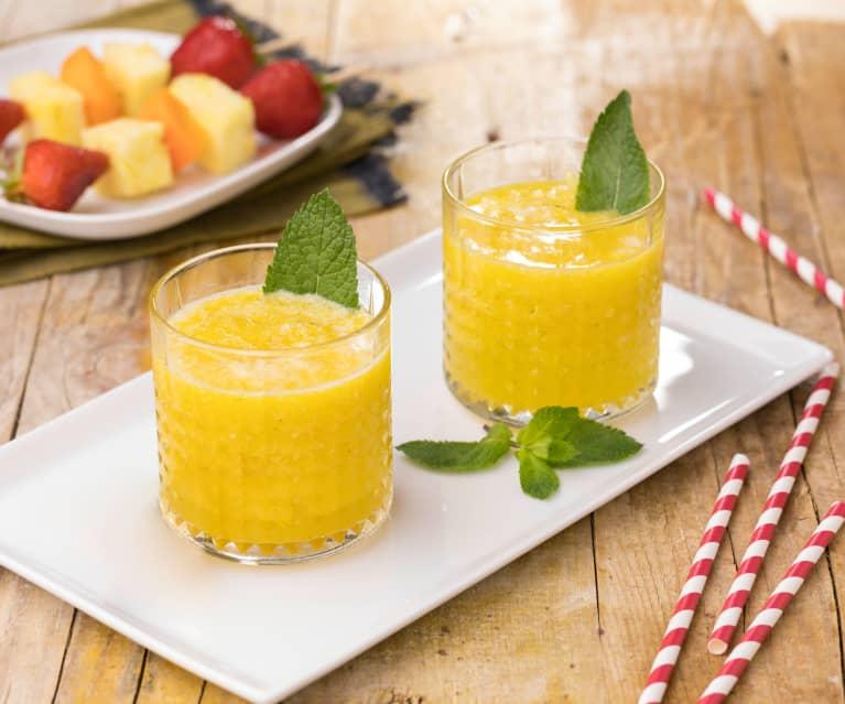 Aperitivo analcolico al mango