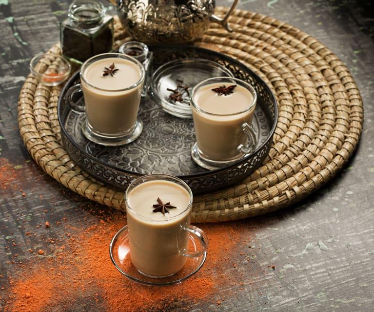 Té con especias indio (Masala chai) - India