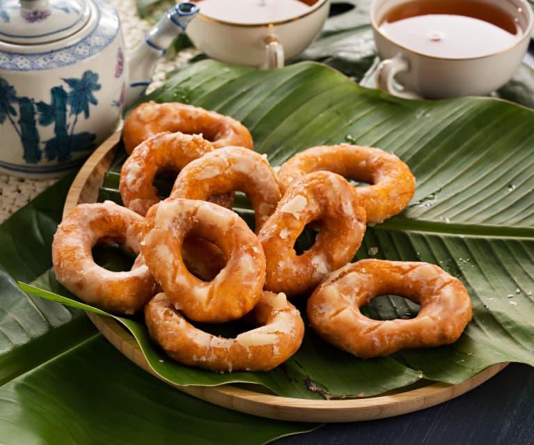 Rosquillas de batata (Kuih keria) - Malasia