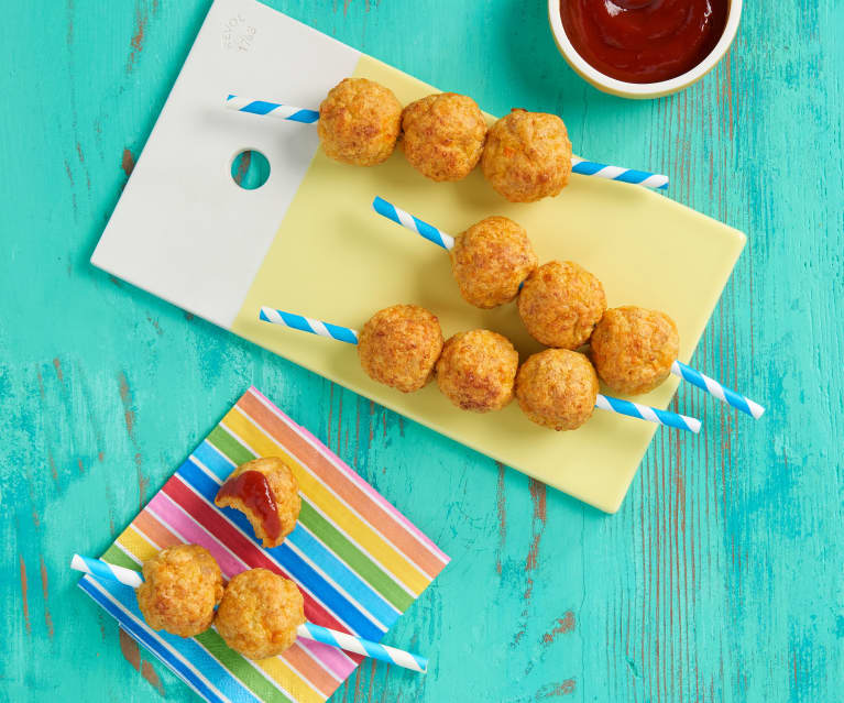 Chicken and Cheddar Meatballs