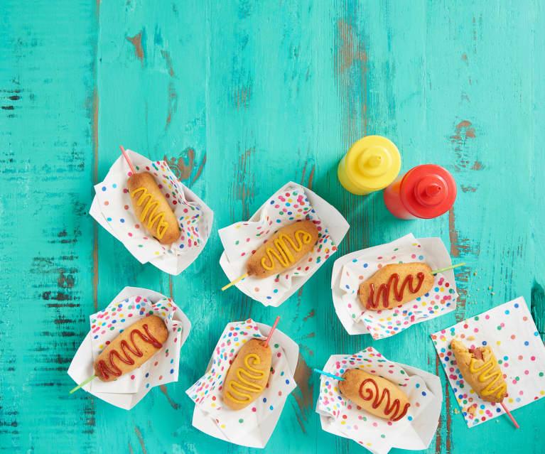 Cheesy Corn Dogs