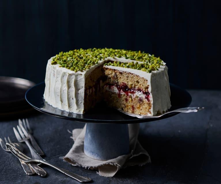 Früchtekuchen-Torte