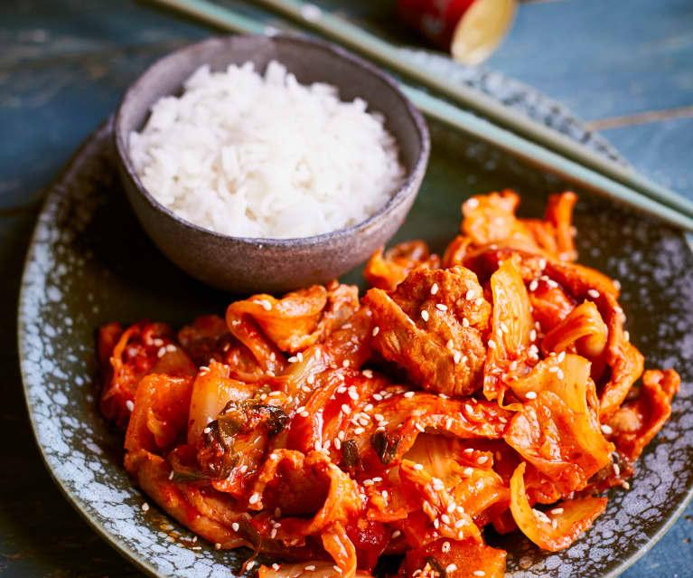 Schweinebauch Mit Kimchi