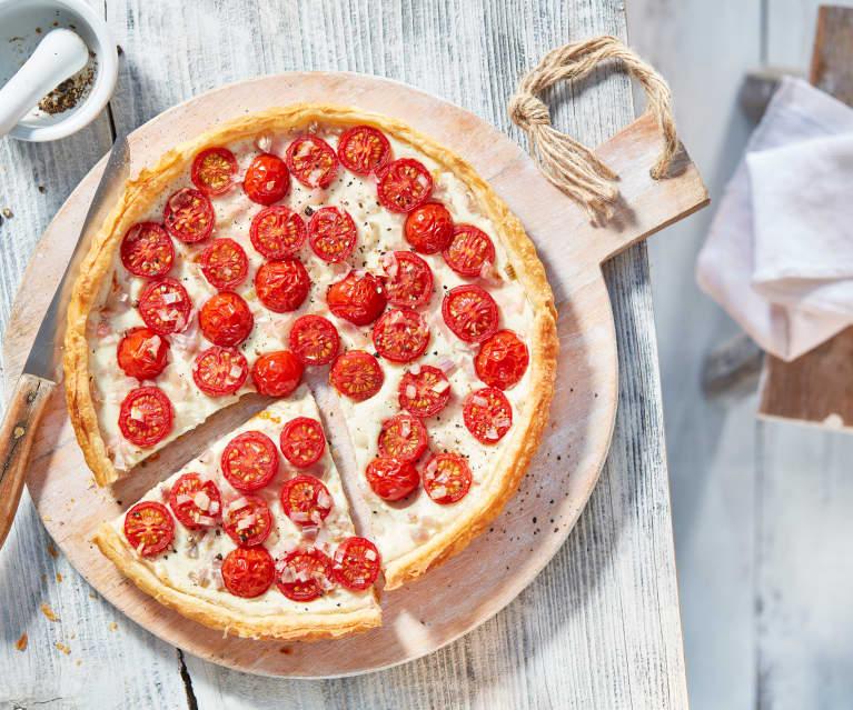 Schneller Tomaten-Ricotta-Pie