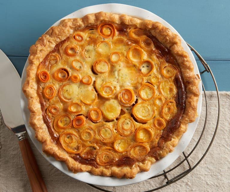 Maple Sweet Potato Quiche