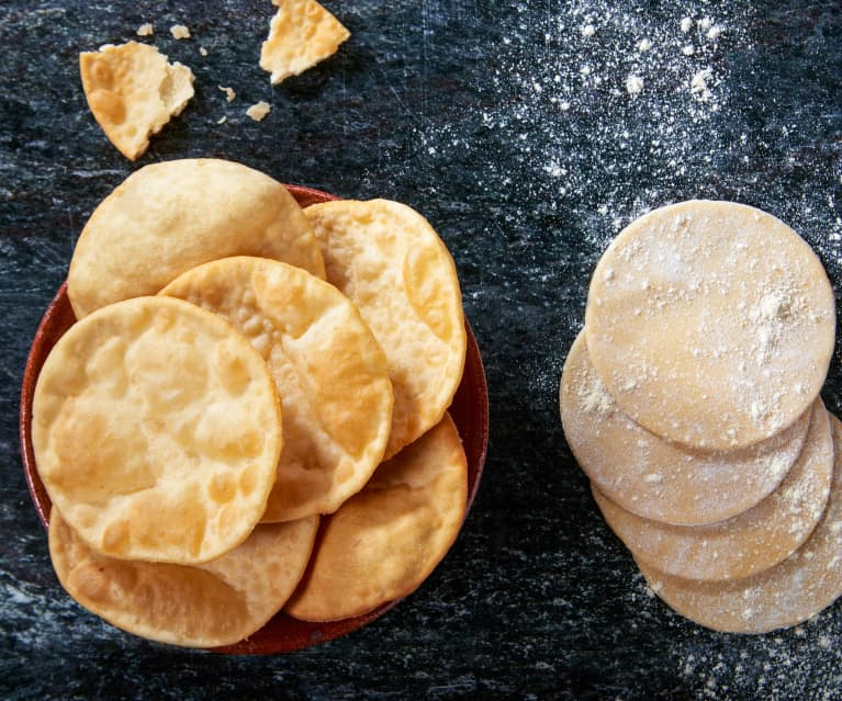 Poppadoms (pane indiano fritto)
