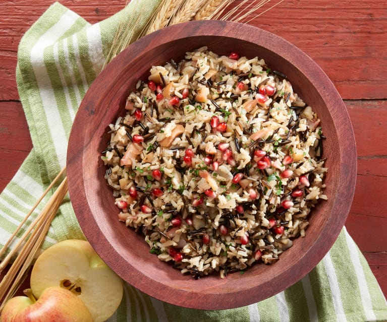 Apple Wild Rice