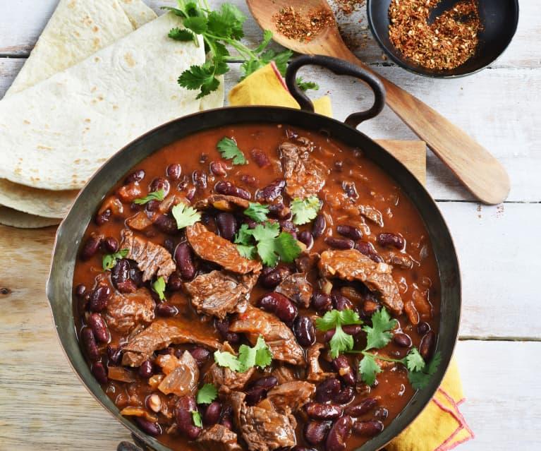 Emincé de bœuf à la mexicaine