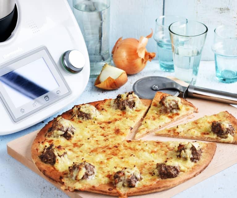 Fougasse briochée, oignon et fromage