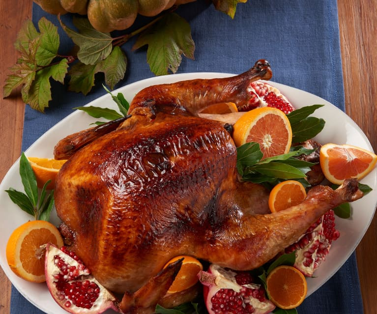 Bourbon Butter Basted Roast Turkey