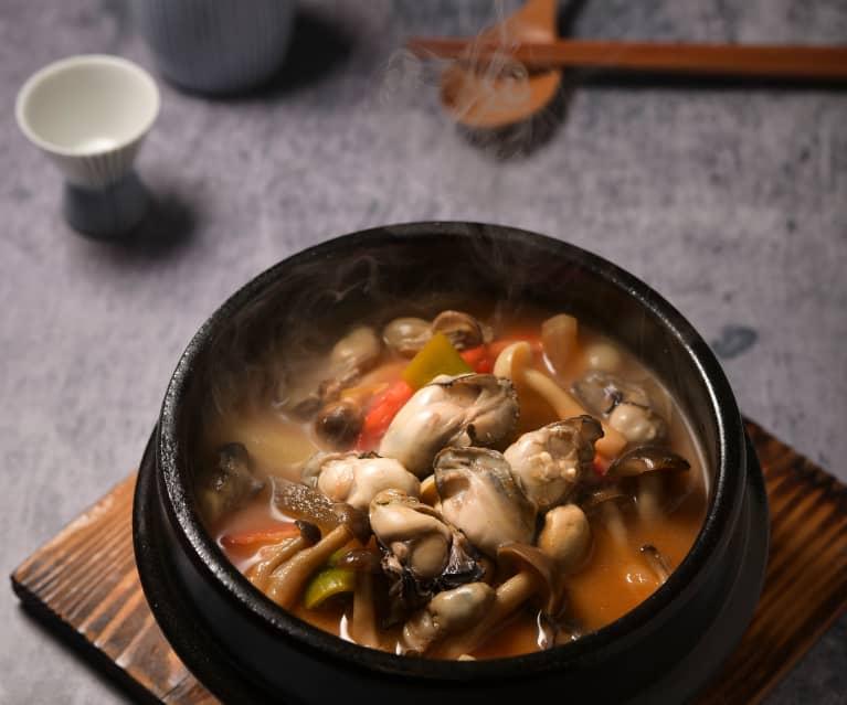牡蠣味噌鍋