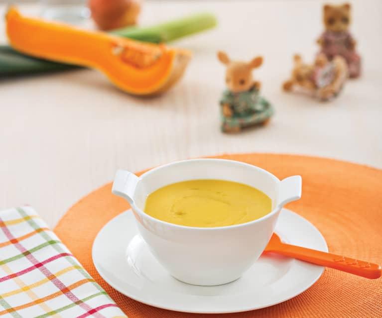 Zupa krem z białej fasoli i dyni