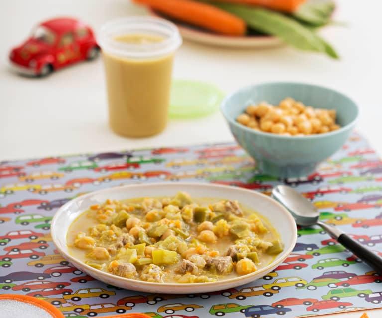 Zupa gulaszowa z ciecierzycą i cielęciną