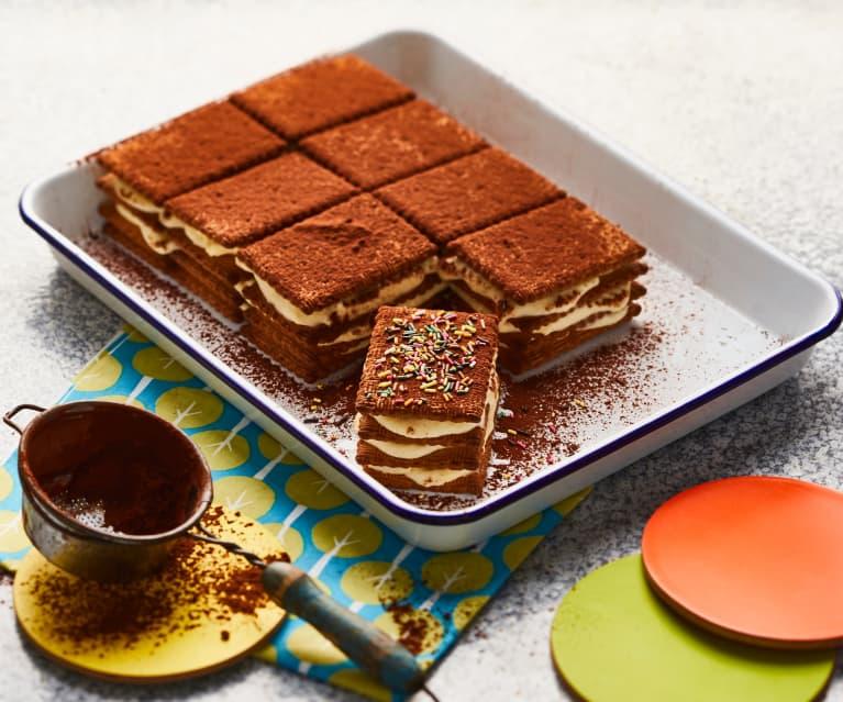 Gâteau de biscuits à la vanille