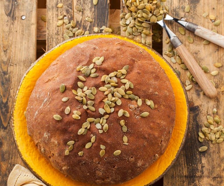 Pane di avena con semi di zucca