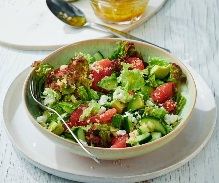 Grapefruit-Avocado-Salat