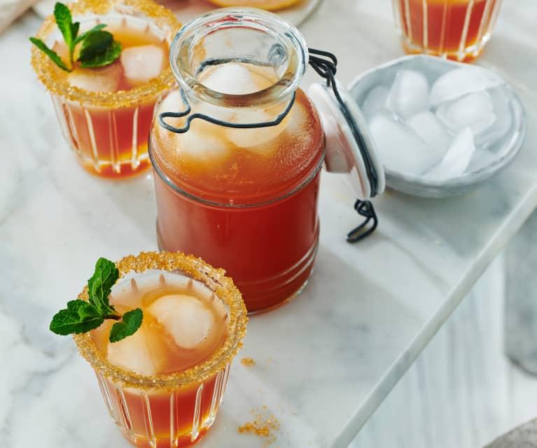 Grapefruit-Limetten-Limonade
