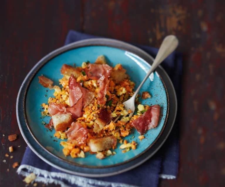 Salade gourmande de céleri et carotte