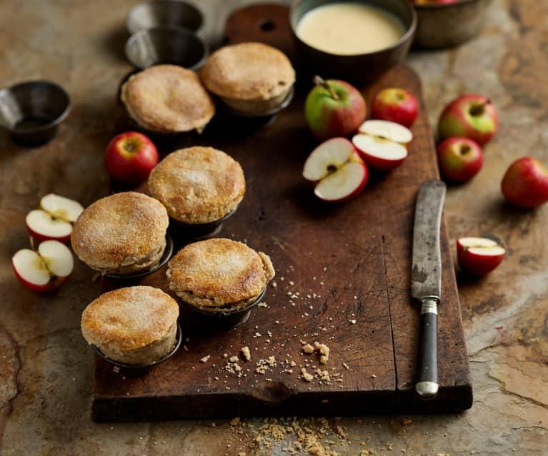 Empadas de maçã