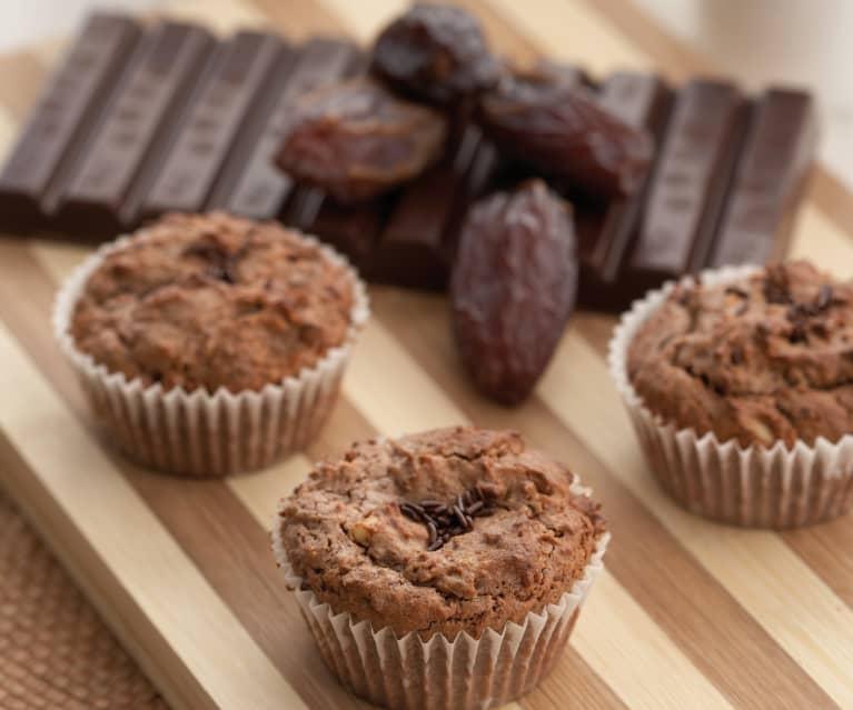 Chocolate Date Muffins