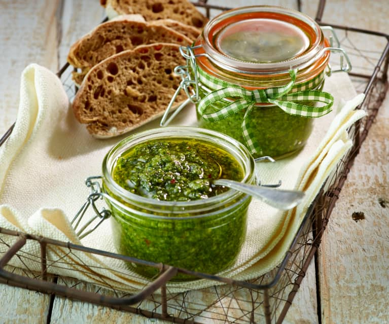 Pesto with Rocket and Chilli