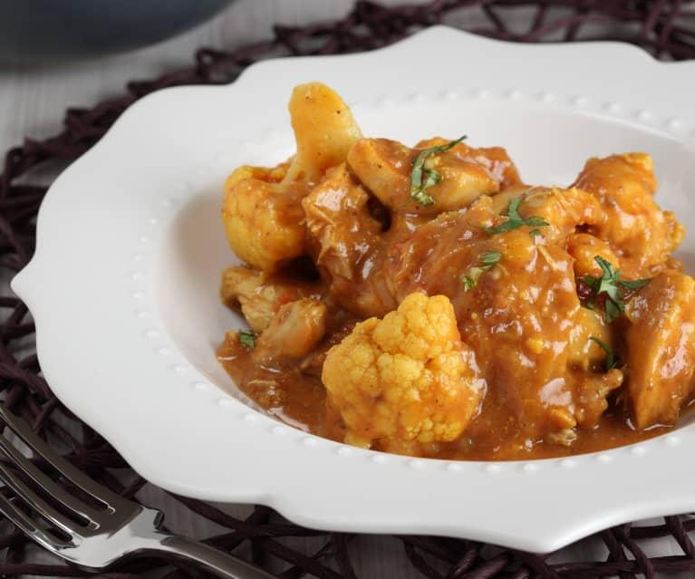 Chicken and Cauliflower Curry