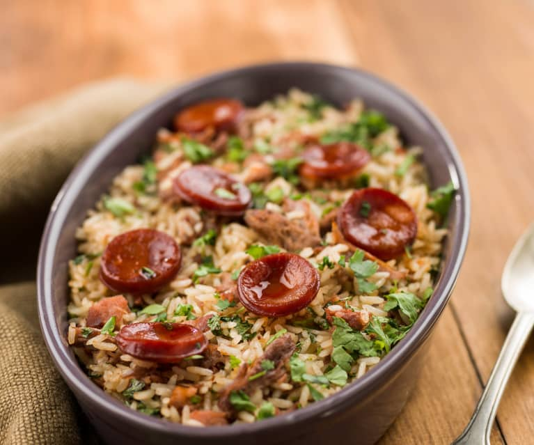 Rice with Duck