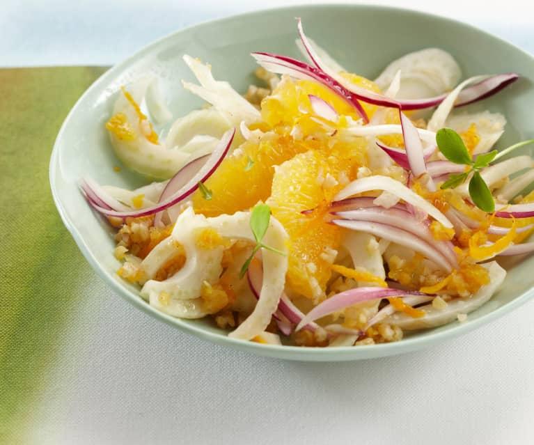 Salade de boulgour au fenouil et à l'orange