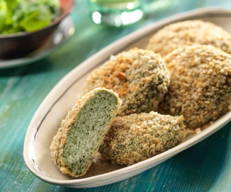 Estremamente Hamburger impanato di tacchino e spinaci - Cookidoo® – la nostra TM24