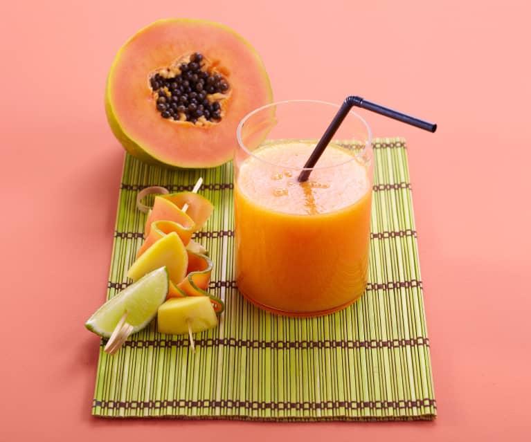 Nectar de papaye, mangue et orange