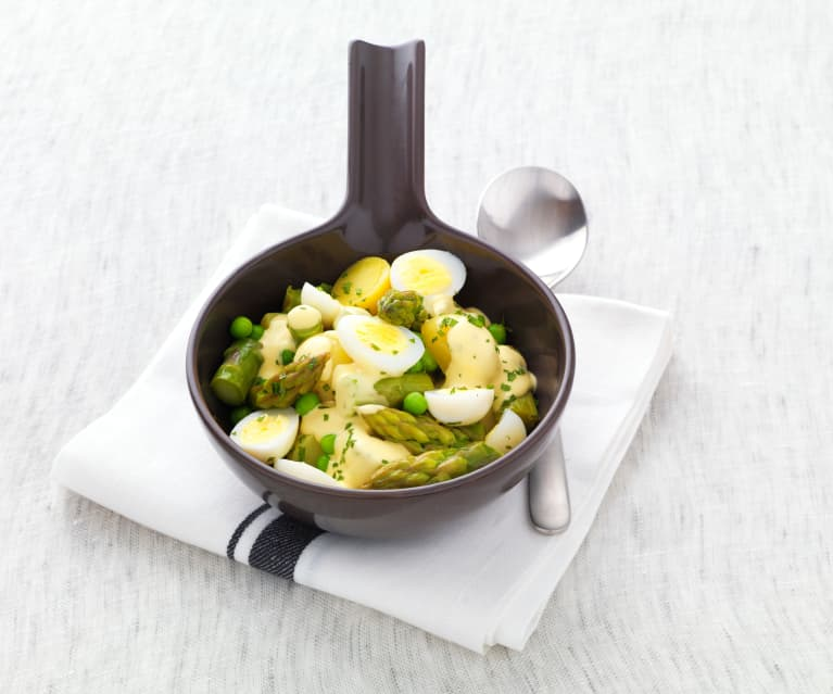 Salade croquante de Printemps