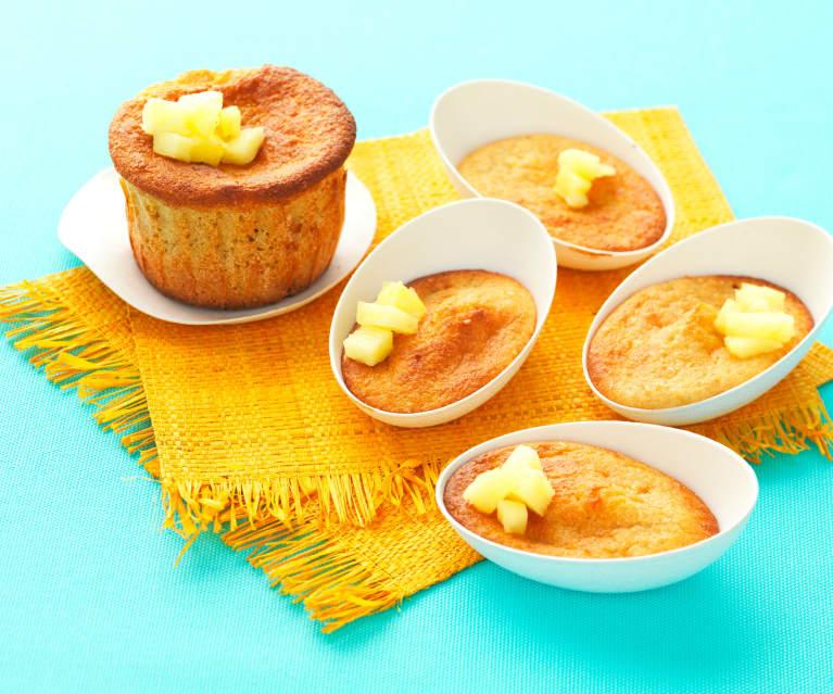 Muffins à l'ananas sans beurre et sans lait