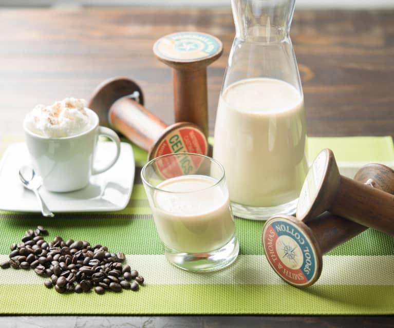 Yogur líquido de café