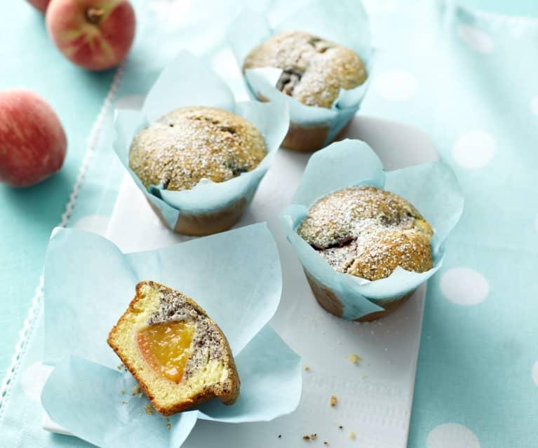 Nectarine Poppy Seed Muffins